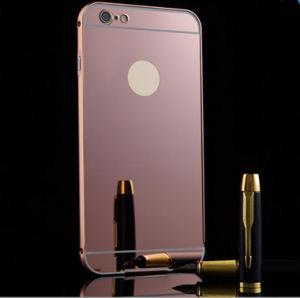 for iPhone 6/6s Aluminium Mirror Phone Case Metal Bumper Cover pictures & photos