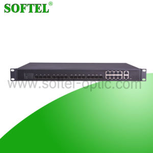 FTTH 8 Pon Gpon/Epon Olt for CATV and Ethernet pictures & photos