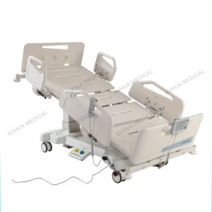 Five Functions Electric Medical Bed for Hospital ICU Room pictures & photos