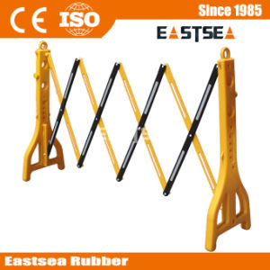 Road Barricades Manufacturers Plastic Traffic Pedestrian Expandable Barricade pictures & photos