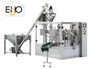 CE Auto Rotary Filling and Sealing Packing Machines pictures & photos