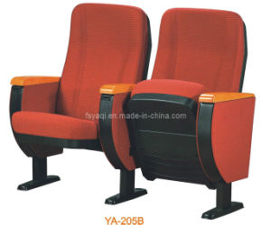 Superior High Back Auditorium Seat Chair with Tablet Office Furniture (YA-205B) pictures & photos