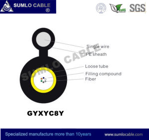 Low Cost Gyxyc8y Figure 8 Self-Support Messengered Optical Fiber Cable pictures & photos