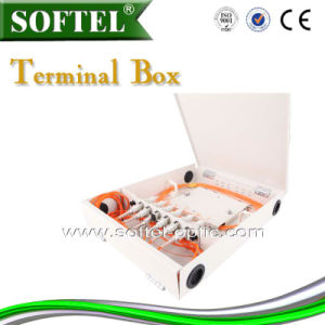 Wall Mounted Distribution Box/FTTH Termianl Box 12 Core pictures & photos