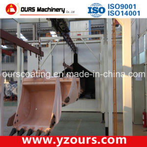 Fully Automatic Steel Paint Spraying Machine & Equipment pictures & photos
