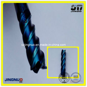 Jingnuo Manufacture 2/4/5/6 Solid Carbide End Mill Sharpening pictures & photos