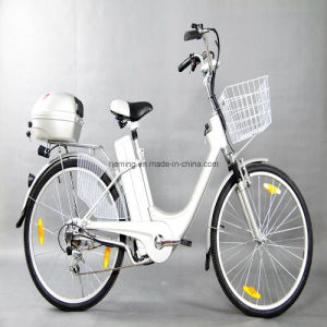 "26"" City Electric Bike Shimano 6 Speed pictures & photos"