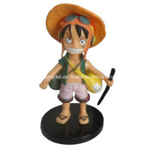 Plastic One Piece Toy for Promotion (luffy) pictures & photos