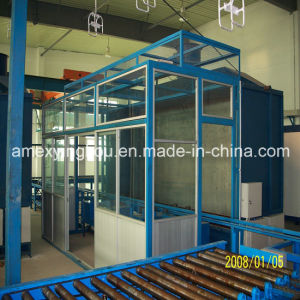 Internal and Outside Paint Spraying Room or Painting Booth for Steel Drum Making Machine or Barrel Machine Steel Drum Machine Production Line pictures & photos