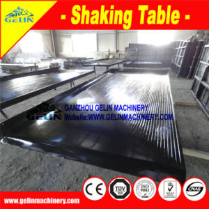 6s Fibreglass Gravity Mineral Separating Vibrating Table Concentrator pictures & photos