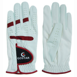 Men′s Synthetic Leather Golf Glove (PGL-12) pictures & photos