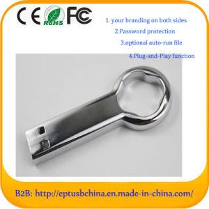 Customized Logo Key Memory Stick Metal USB Flash Drive (EM054) pictures & photos