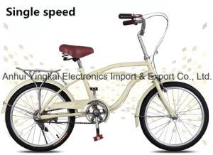 20 Inch Beach Cruiser, Casual Bike for Lady and Kids (YK-BC-012)
