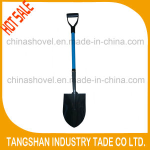 Hot Sale Fiberglass Handle PP Grip Steel Spade pictures & photos