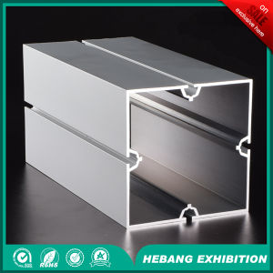 Aluminum Prices 10cm 4 Slot Square Column pictures & photos