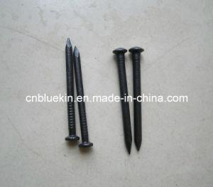 Black Concrete Nails pictures & photos