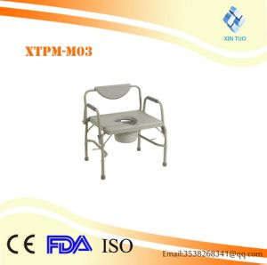 Superilor Quality Iron Fixed Toilet Chair pictures & photos