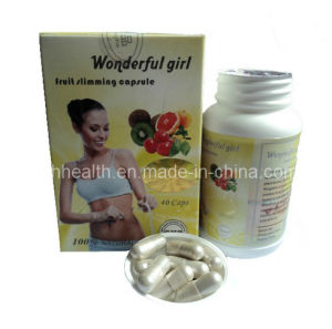 Wonderful Girl Fruit Slimming Capsule 40 Capsule pictures & photos