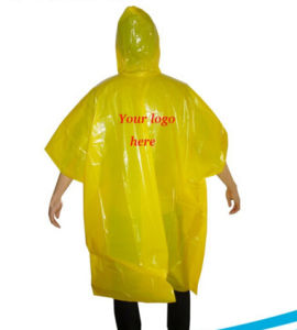 Clear Women Fashion Rain Poncho