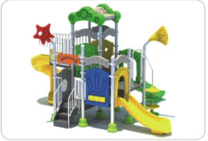 Children Outdoor Playground (QQ14035-2) pictures & photos