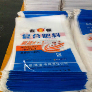 25kg Customized PP Woven Plastic Wholesale Fertilizer Bag pictures & photos