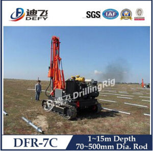 Hydraulic Small Pile Driver for Solar Pawer Plant pictures & photos