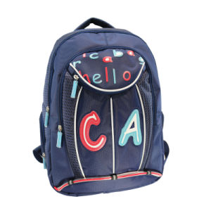 Letter Printing Student Backpack pictures & photos
