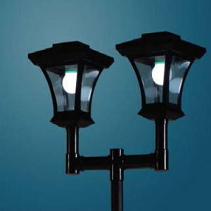 Solar Charter Twin Head Post Light pictures & photos