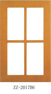 PVC Casement Door with Double Glass (bl-001) pictures & photos