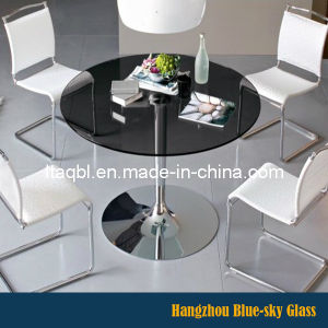 China Manufacture Back Painted Tempered Glass for Table Top