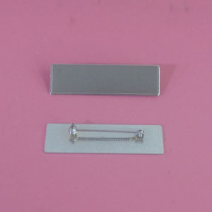 Chrome Silver Debossing Blank Silver Name Plates pictures & photos