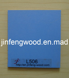 100% Poplar 1220*2440mm Melamine MDF Board Blue Color