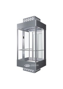 Mrl Luxury Observation Elevator with Glass Car pictures & photos