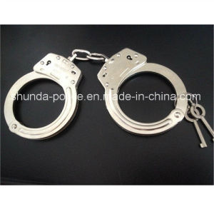 Police Carbon Steel Handcuff Best Quality pictures & photos