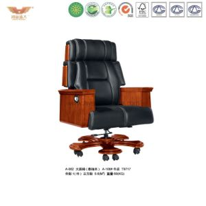 Luxury Wooden Executive Leather Chair (A-062) pictures & photos