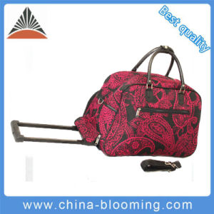 Sports Trolley Wheeled Handle Shoulder Briefcase Suitcase Holdall Luggage Bag pictures & photos