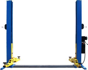 Two Post Hydraulic Car Lift with Safety Lock Qjy232b pictures & photos