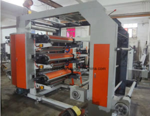 Yt4600 4 Color Woven Paper Bag Flexo Printing Machine pictures & photos