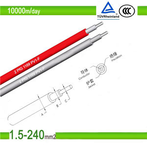 TUV Certificate Photovoltaic Solar Cable (PV1-F) pictures & photos
