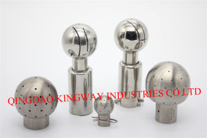 Stainless Steel Rotary Sanitary Cleaning Ball, pictures & photos