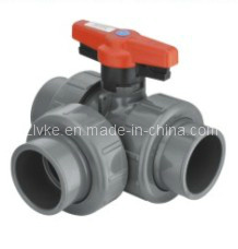 PVC Three Way Union Ball Valve (GT303) pictures & photos