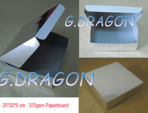 Customed Aluminum Coated Paper Cake Box (GD-CB008) pictures & photos