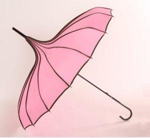 Hot Tower Shape Straight Umbrella for Women (LGUZ14023)