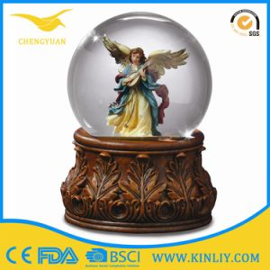 Custom Design Fairy Decoration Snow Globe with Blowing Snow pictures & photos