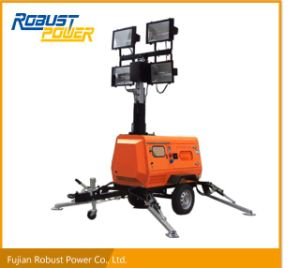 Kubota Portable Hydraulic Waterproof Mobile Lighting Tower pictures & photos