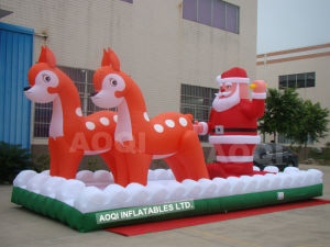 Inflatable Christmas Toy Santa Claus (AQ5722) pictures & photos