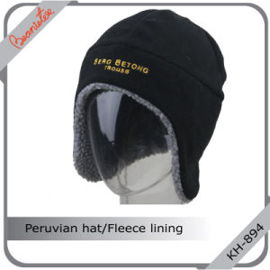 Peruvian Hat with Fleece Lining and Quality Embroidery