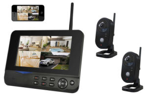"""Wireless Digital Camera with 7"""" Recordable Monitor"""