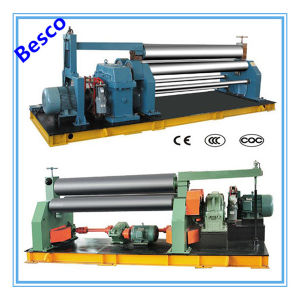 W11-8X3000 Mechanical 3 Roller Plate Bending Machine pictures & photos