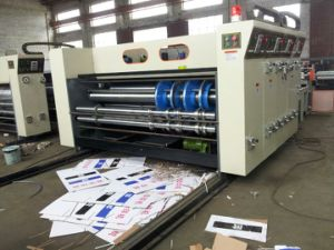 Chain Feeding Printing Slotting Machine/Good Quality 4 Color Flexo Ink Printing Slotting Machine